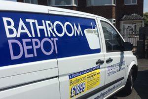 Bathroom Depot Van