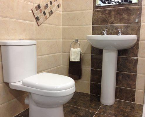 Designer Bathroom suite £1899