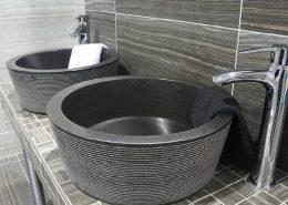 natural stone basins