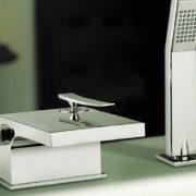 Contemporary bath taps 7 - Bathroom Depot Leeds