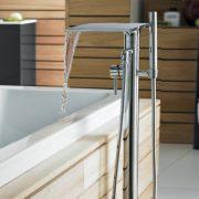 Bath waterfall taps 4 - Bathroom Depot Leeds