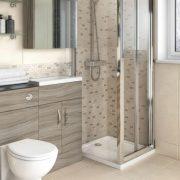 Bi-fold shower enclosures, shower cubicles - Bathroom Depot Leeds 2