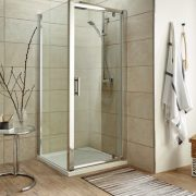 Pivot door shower enclosures, shower cubicles - Bathroom Depot Leeds 2