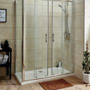 Sliding door shower enclosures, shower cubicles - Bathroom Depot Leeds 3