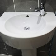Semi pedestal bathroom basins 1 - Bathroom Depot Leeds