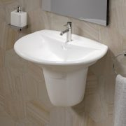 Semi pedestal bathroom basins 5 - Bathroom Depot Leeds