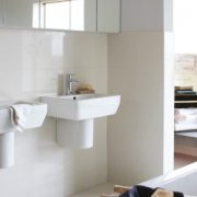 Semi pedestal bathroom basins 3 - Bathroom Depot Leeds