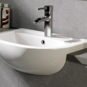 Semi recessed bathroom basins 3 - Bathroom Depot Leeds