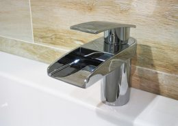Bath waterfall taps 1 - Bathroom Depot Leeds