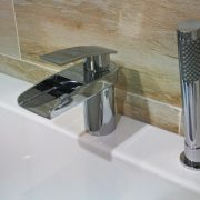 Bath waterfall taps 3 - Bathroom Depot Leeds