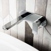 Wall mounted bath taps 1 - Bathroom Depot Leeds